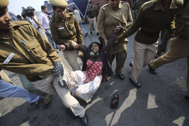 Manifestaciones contra las violaciones en india
