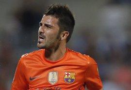 """Fútbol.- La agencia de representación de Villa señala que el futuro del jugador """"está en manos"""" del FC Barcelona"""