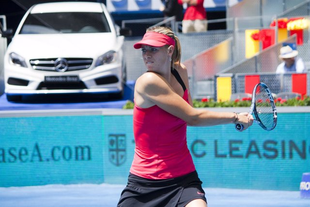 Maria Sharapova Mutua Open Madrid Tenis
