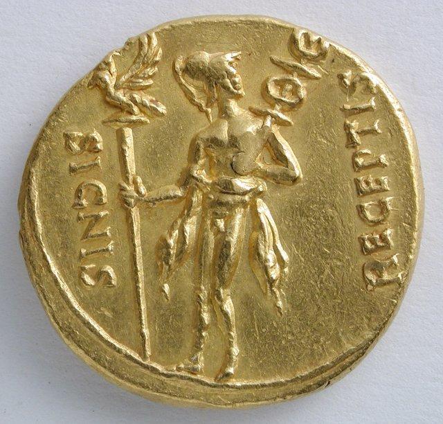 Moneda de la exposición.