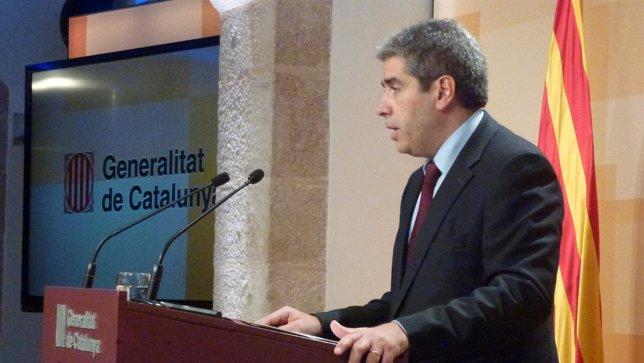 Francesc Homs, portavoz de la Generalitat de Catalunya
