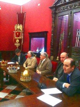Presentación cabalgata de Reyes Magos de Granada