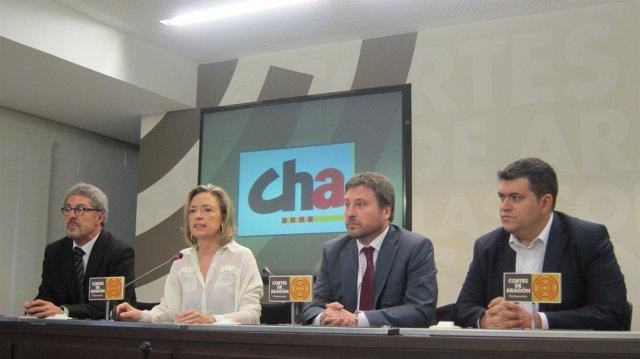 Los 4 diputados de CHA