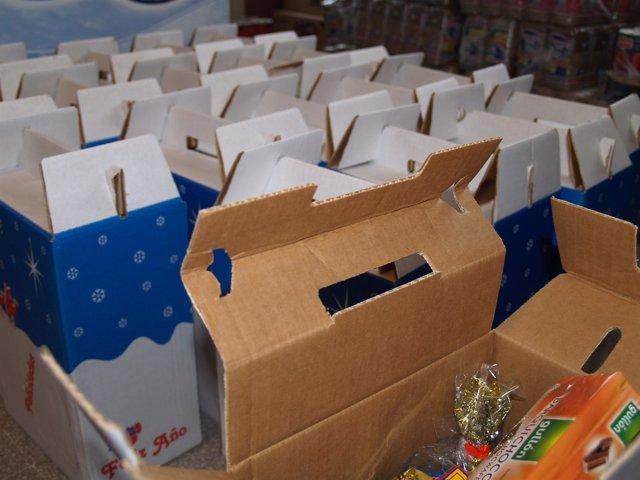 Las Cestas en el Banco de Alimentos Municipal