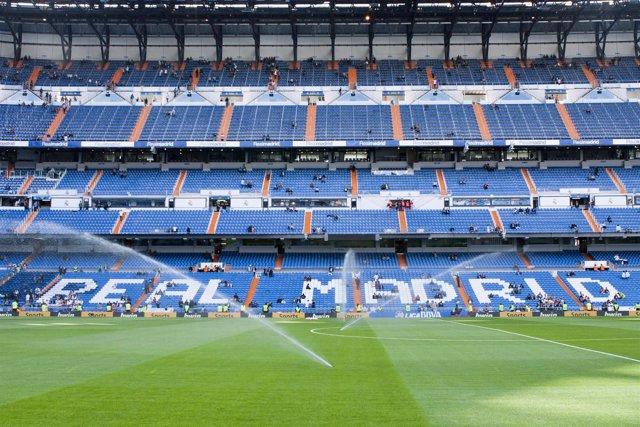 Grada Estadio Santiago Bernabéu
