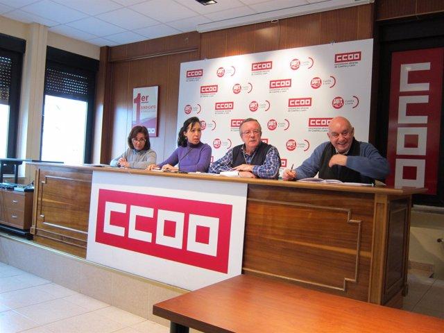 Rubio (I), Olmedo, Sanz y Gómez (D)