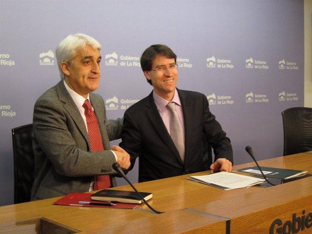 Acuerdo Universidad de La Rioja con el Gobierno regional