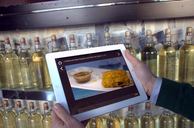 Carta digital en restaurantes gaditanos
