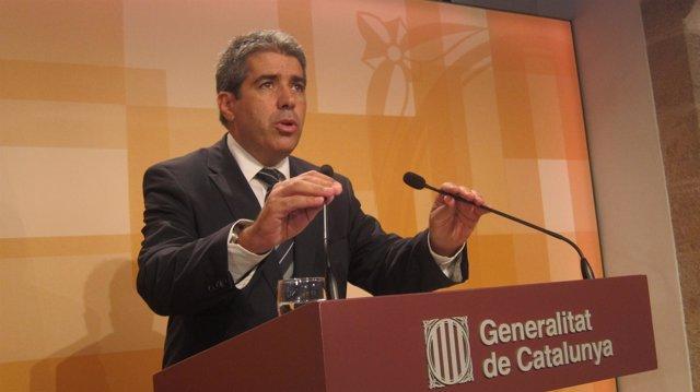Francesc Homs, Tras La Reunión Del Consell Executiu