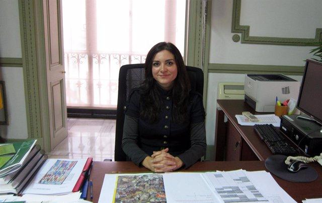 La delegada de Fomento y Vivienda de la Junta en Sevilla, Granada Santos
