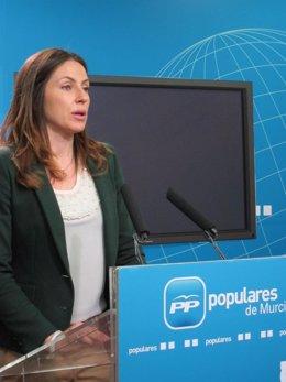 La portavoz del PP regional, Laura Muñoz