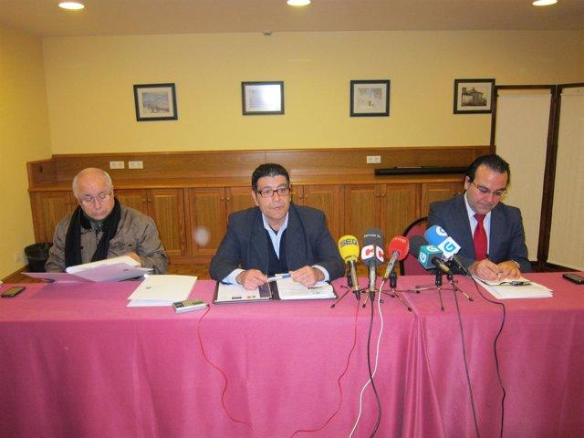 Rueda de prensa de Agaprofi para presentar la demanda colectiva contra NCG Banco