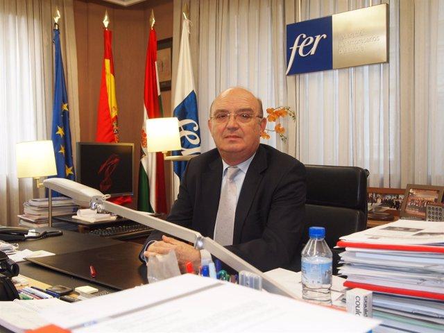 Julián Doménech, presidente de la FER