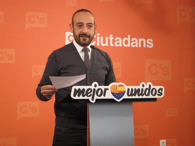 Jordi Cañas, portavoz de C's