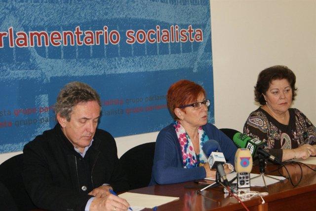 Francisco Oñate, Begoña García Retegui y Teresa Rosique
