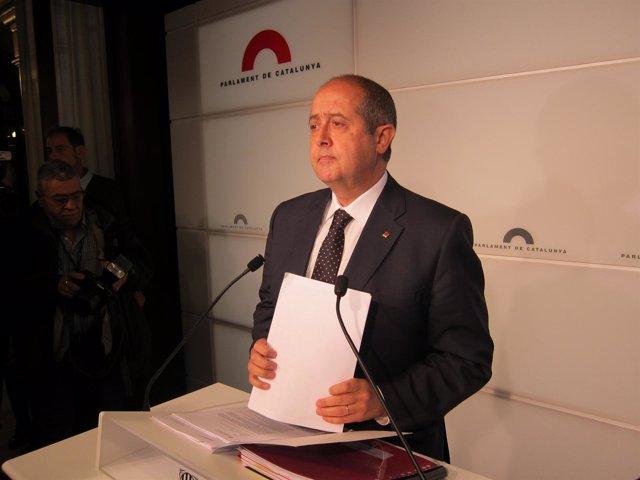 El conseller de Interior, Felip Puig