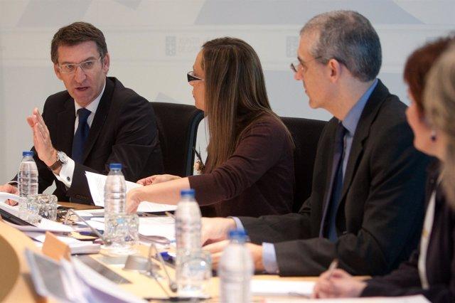 Reunión del Consello de la Xunta del 27 de diciembre de 2012
