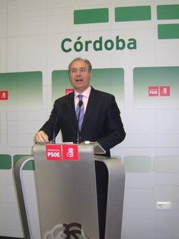 Juan Pablo Durán en rueda de prensa