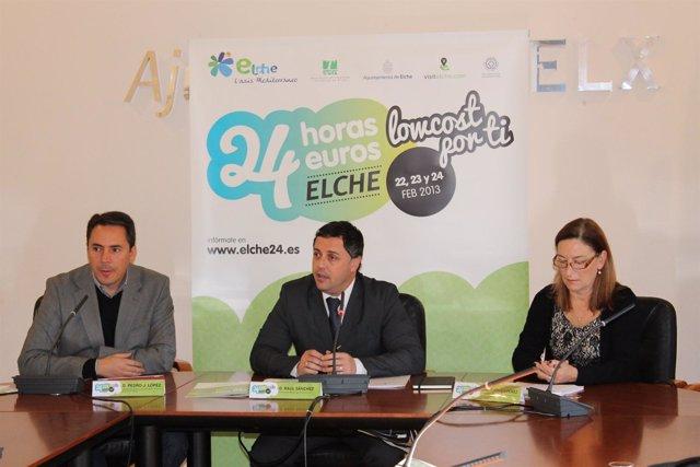 Presentación de la campaña Elche24