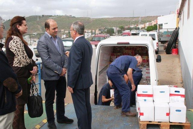 El Ayuntamiento dona 2.000 euros al Banco de Alimentos