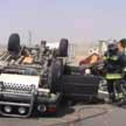 Un accidente de tráfico