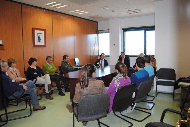 Bascuñana reunido con trabajadores del CIS