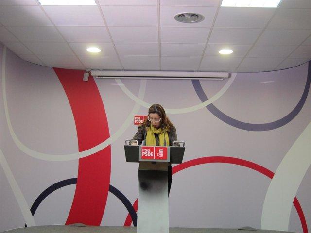 Rueda de prensa Carmen Gallego