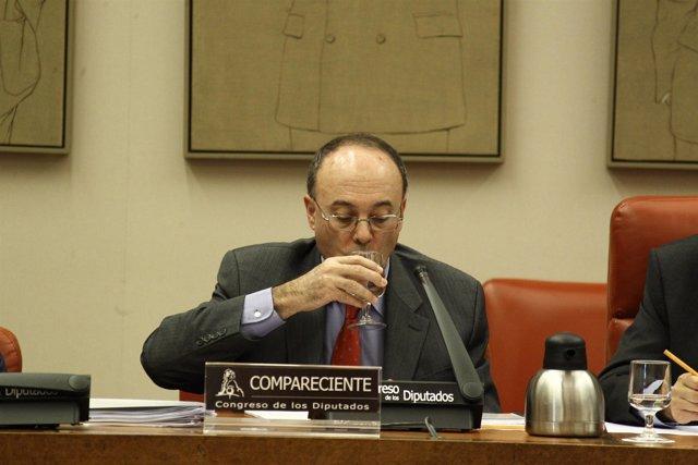 Luis Linde, en el Congreso