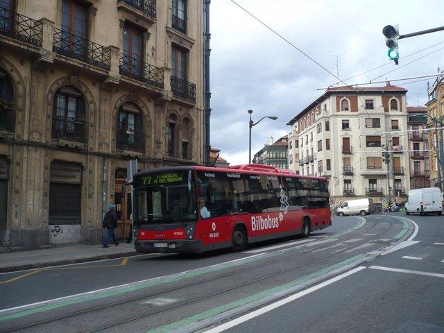 Bilbobus en Bilbao
