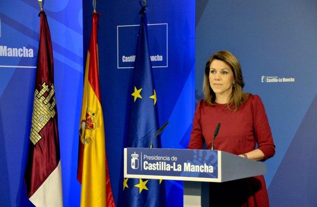 Cospedal presenta el Plan de Inversión y Empleo