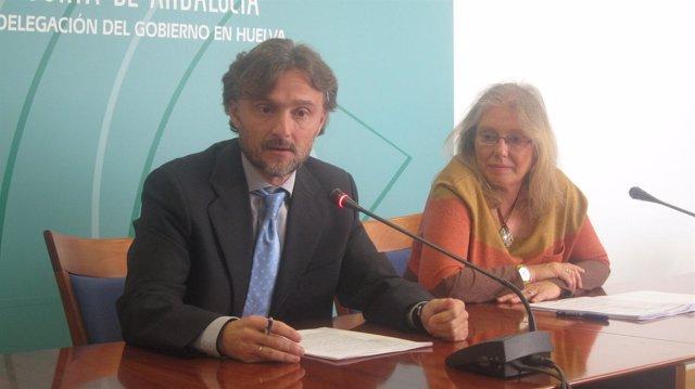 José Fiscal, y Carmen Lloret.