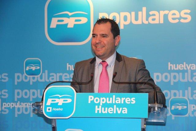 El viceportavoz del PP en la Diputación, José Domingo Doblado.