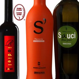 Vinos de Bodegas Sauci.