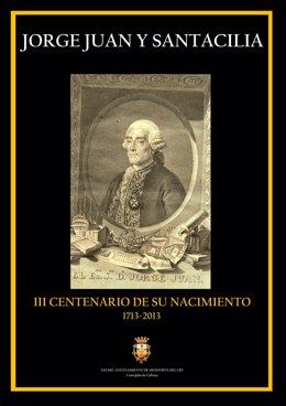 Cartel del homenaje a Jorge Juan