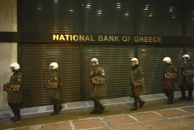 El Banco Central de Grecia