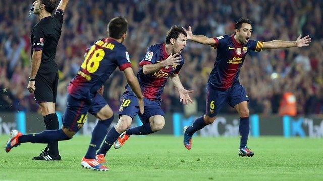Jordi Alba,Messi,Xavi Fc Barcelona