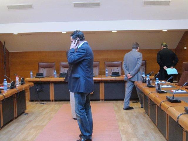 Imagen de arhivo de la comisión de investigación de GFB en el Parlamento