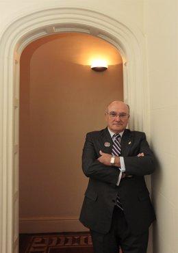 Carlos Carnicer, presidente de la Abogacía