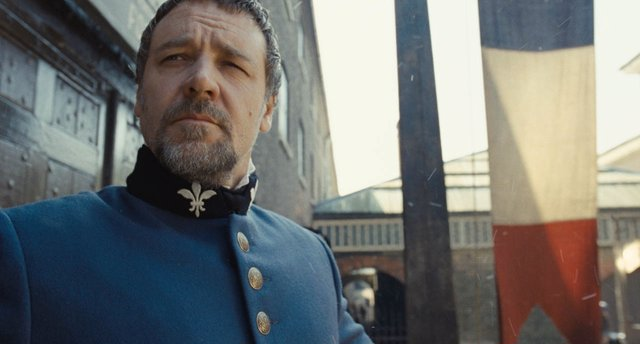 Russell Crowe en Los Miserables