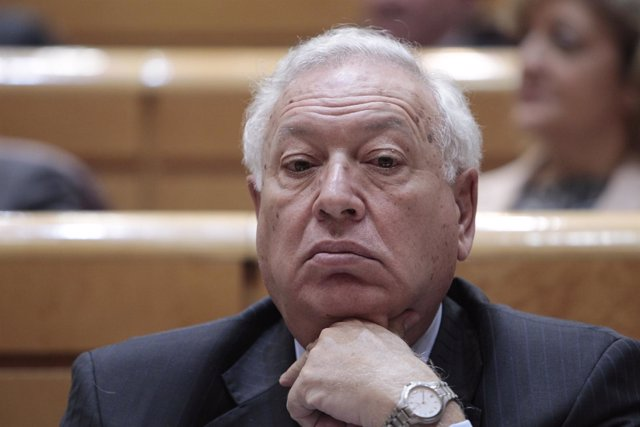 José Manuel García- Margallo en el Senado 18 de diciembre