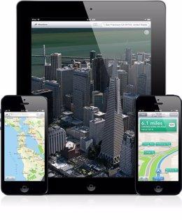App de Mapas de Apple