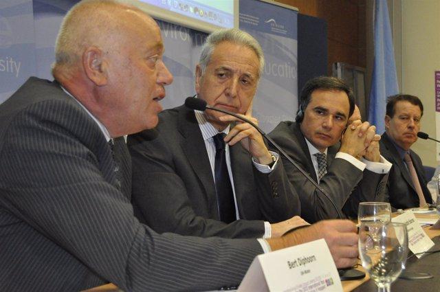 Bert Diphoorn, Lobón, De Pedro y Blasco