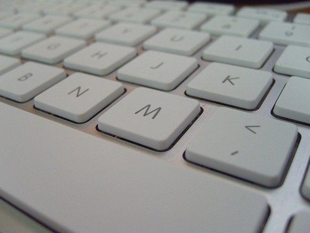 Recurso teclado ordenador