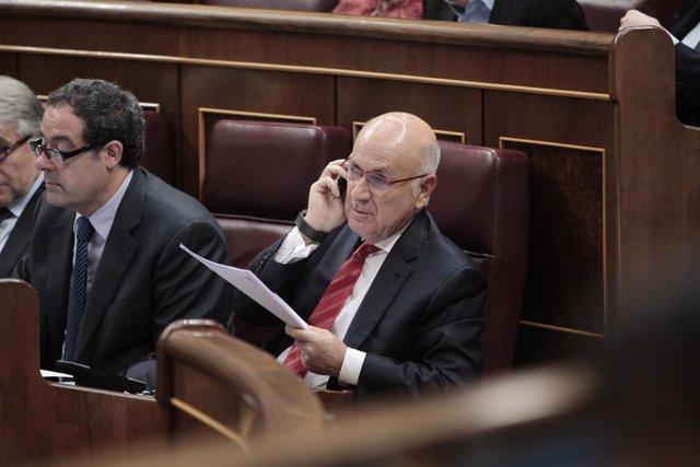Josep Antoni Duran i Lleida en el Congreso