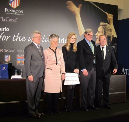 Fundación Atlético de Madrid firma un convenio con la Asociación Harambee para fomentar educación y deporte en África
