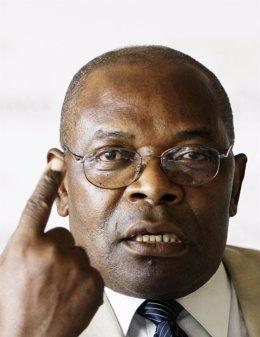 El presidente del Gobierno de Guinea Ecuatorial en el Exilio, Severo Moto