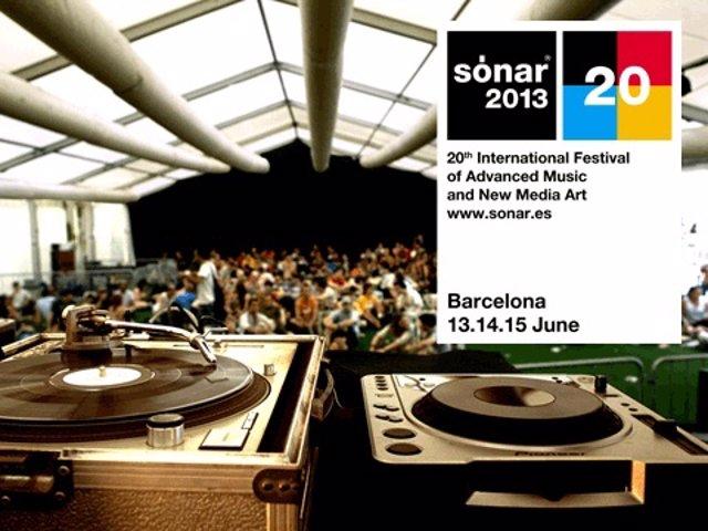 Sónar 2013 anuncia nuevos nombres para su cartel en Barcelona