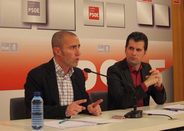 Julio López Y Luis Tudanca Presenta Una PNL Sobre Energías Renovables