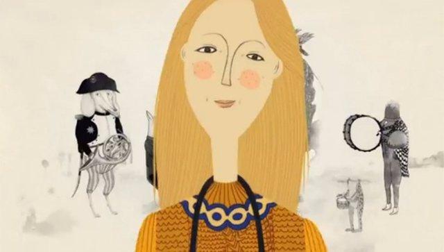 Linda McCartney en versión animada