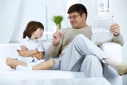 La mayoría de los padres miente a sus hijos para cambiar sus conductas
